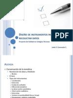 Diseño de instrumentos para recolectar datos