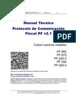Epson PF200 - Manual de Protocolo y Comandos