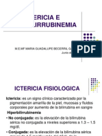 Ictericia e Hiperbilirrubinemia en El Rn