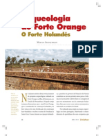 Arqueologia do Forte Orange - O Forte Holandês - Marcos Albuquerque