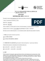 Examen Pau Arte Junio 2010