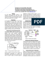 Performance of a Convertible, 2D and 3D Autosteroscopic Display Sharp IDRC_00_P45