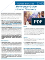 Quick Reference Guide to Hurricane Recovery