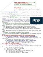 01 - TEOLOGIA BIBLICA - Introducao