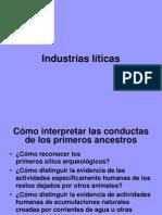 Industrias liticas