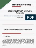 Epidemiologia e Saude Publica