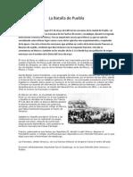 La Batalla de Puebla
