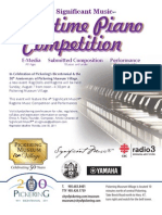 4th-Significant Music®™ Ragtime Competition Syllabus
