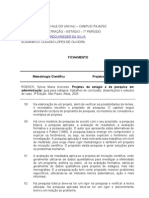 Fichamento - Claudio Lopes de Oliveira