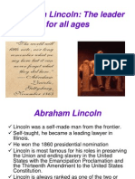Abraham Lincoln Essay  Abraham Lincoln  Politics Of The United States  Abraham Lincoln Final High School Entrance Essay also Proposal Essay Topic List Adjustable Coffee Table