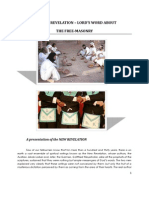 Brochure New Revelation - About the Orign of Free-masonry