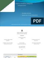 Cámara Nacional Electoral. Resultados de Las Elecciones Primarias