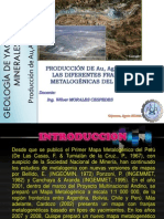Produccion Metalogenica en El Peru