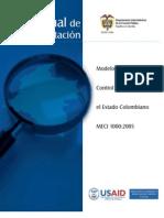 Manual de Implementacion - MECI 1000:2005