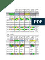 gomi 2011 schedule