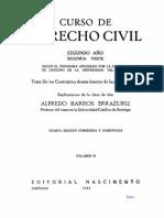Curso de Derecho Civil – Tomo III – Obligaciones II