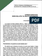 Bellatin y El Relato Fotografico (Ruiz)
