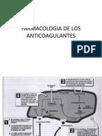 Farmacologia anticoagulantes nuevo