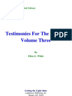 Ellen G. White - Testimonies for the Church Volume Three
