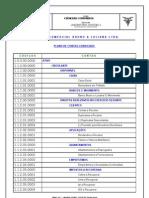 Plano de Contas Programa Folhamatic