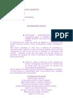 Chama Violeta Caderno de Apelos e Decretos