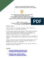 Anatomia  Radiológica-  Fisiología ,  Anomalias  Cavidad  Nasal, Patología  Rinosinusal