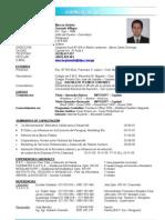 Marcos Granado (Curriculum Vitae)