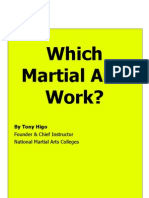 which martial arts work