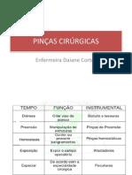 PINÇAS CIRÚRGICAS 1