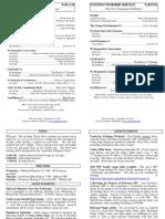 Cedar Bulletin Page - 09-11-11