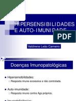 Slide De Valdirene Leão Carneiro Sobre Hipersensibilidades E Auto-Imunidade - Fisiopatologia E Farmacoterapia I - UNIME