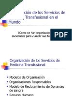 4 Organización de la M Transfunsional