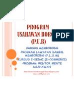 Program Usahawan Boorng