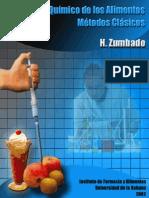 Analisis Quimico de Los Alimentos Metodos Clasicos