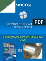 PROGRAMACION TORNO CNC