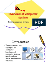 2.1.1 Overview of Computer System