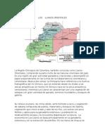 Descripcion de Mapas de Los Llanos Orient Ales