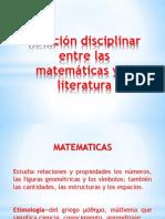 MATEMATICAS Y LITERATURA