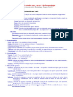 Roteiro Estudos Dermatologia P1