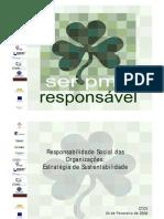 A responsabilidade social na organiza�����es