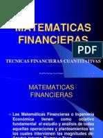 Diapositivas Matematicas Financiera