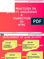 NTPC Quality Inspection