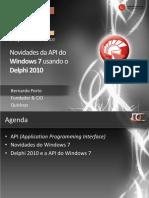 Windows a Pie Del Phi 2010