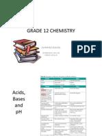 Class10 ChemistryG12 Notes and Homework