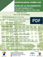 """Inauguracion de las Jornadas sobre los Efectos Tárdios de la Polio y  el Sindrome Postopolio, en el """"Hospital Puerta del Mar"""" Cádiz"""
