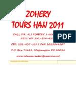 Zohery Tours Hajj 2011