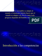 Historia y Conceptualizacion de Las Competencias
