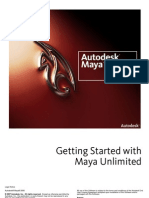 Getting Started With Unlimited Maya