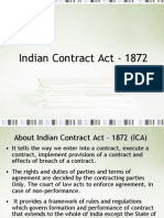 Indian Contract Act - 1872 Final