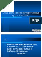 Trucos Del Movil Diapositivas